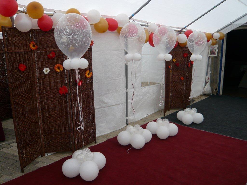 Gouden bruiloft versiering jv11 aboriginaltourismontario for Ballonnen versiering zelf maken
