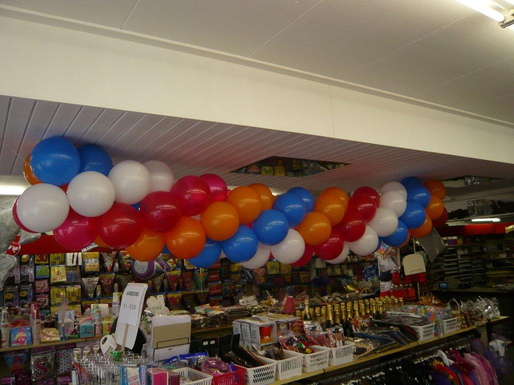 Voorbeeld ballonnenpilaar 2